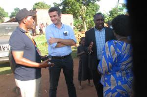 Visit of the IFAD president to PROFIRA